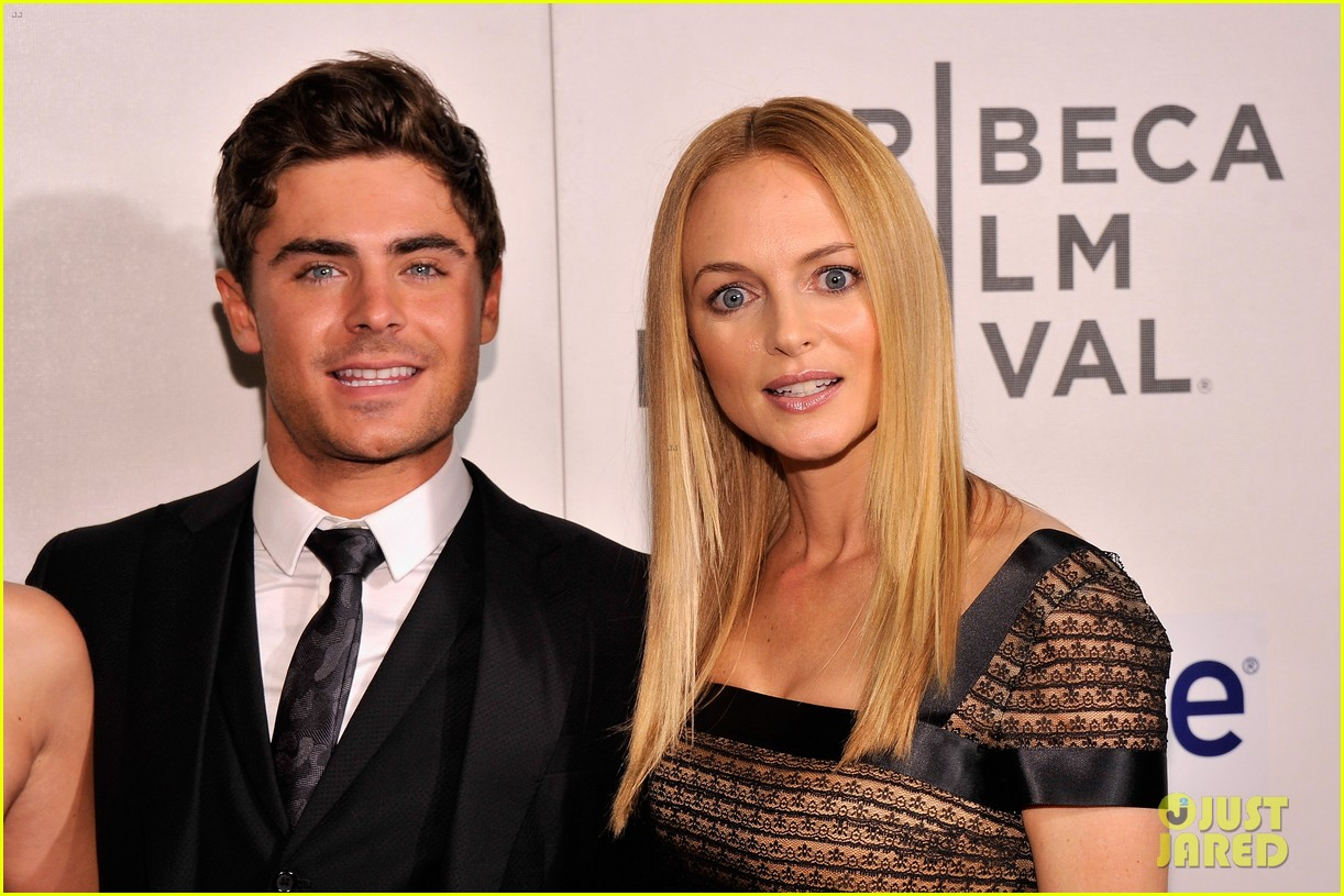 zac efron heather graham at any price premiere 26
