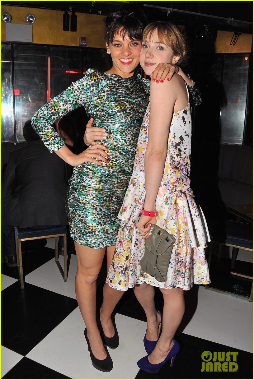 zoe kazan sterling beaumon the pretty one premiere 25