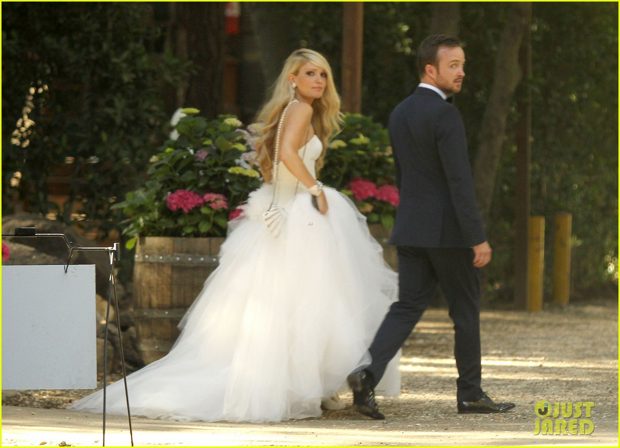 aaron paul lauren parkesian wedding photos 052879084