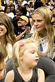 jessica alba cash warren attend la sparks game with the kids 06
