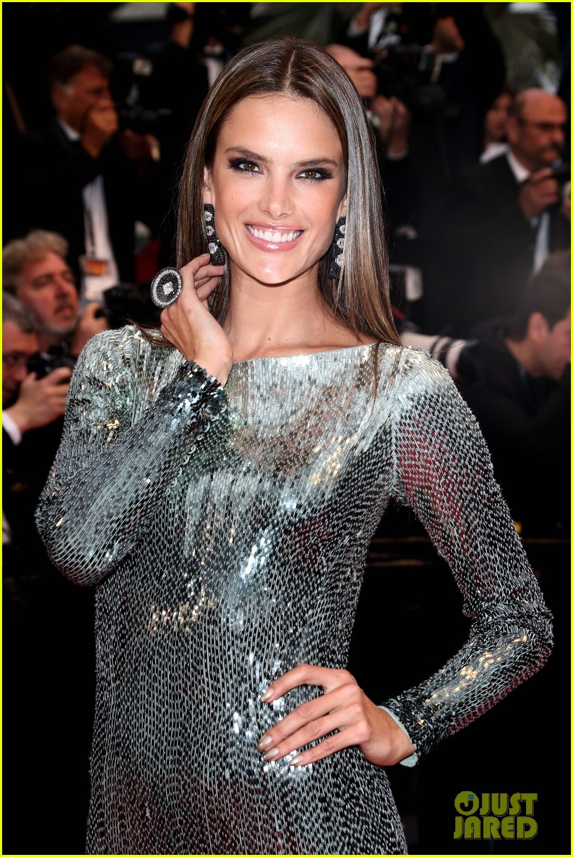 alessandra ambrosio irina shayk all is lost cannes premiere 022876274