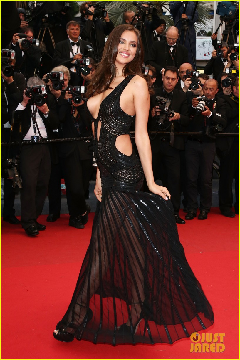 alessandra ambrosio irina shayk all is lost cannes premiere 072876279