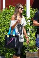 alessandra ambrosio shops at the brentwood country mart 45