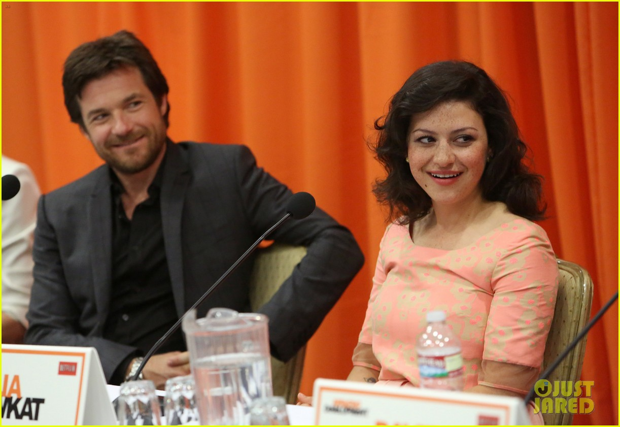 jason bateman portia de rossi arrested development press conference 10