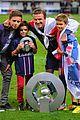 david beckham celebrates final soccer game with family 05