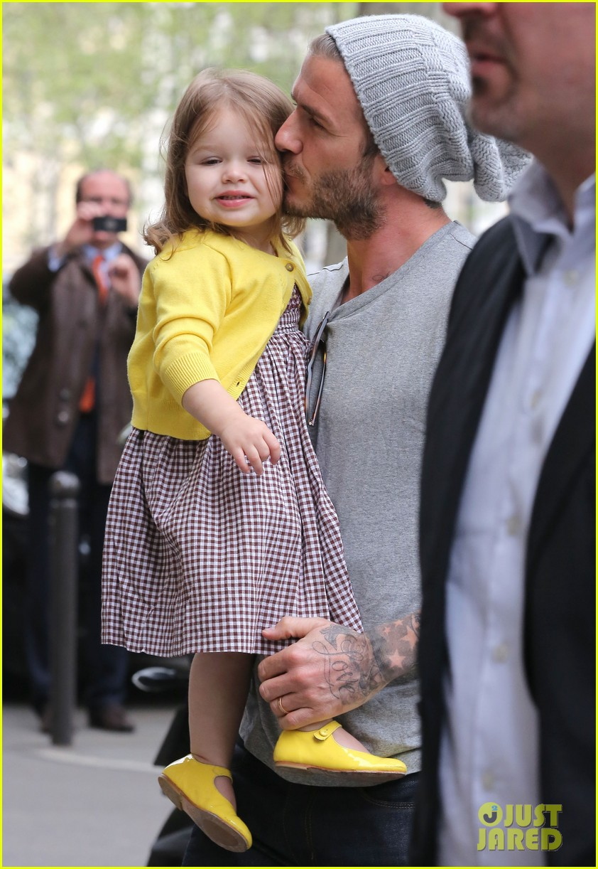 david victoria beckham shopping fun with harper 10