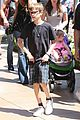 victoria david beckham separate shopping trips with the kids 13