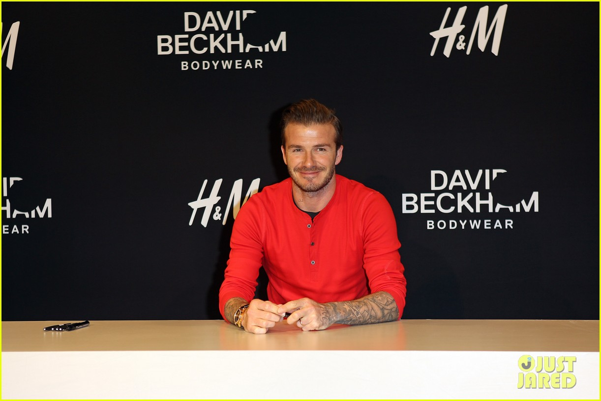 david beckham hm bodywear collection launch 01