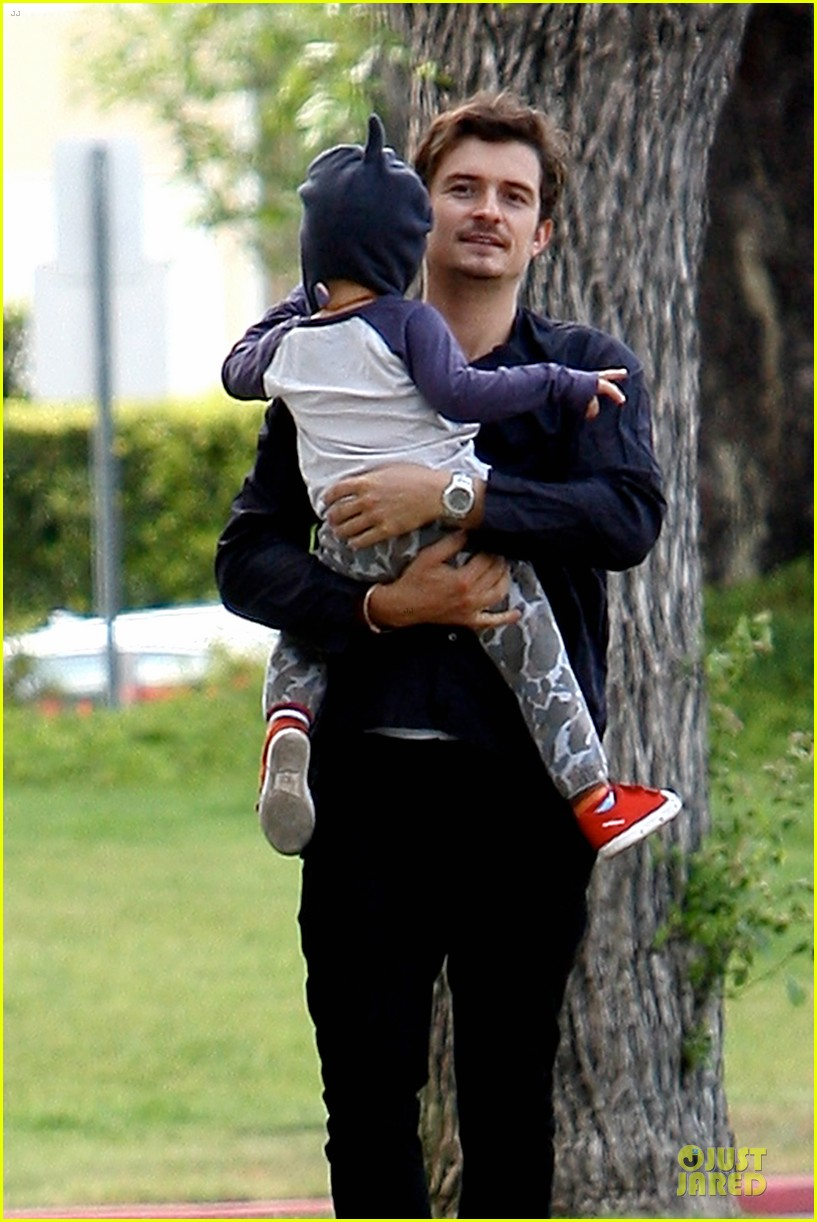orlando bloom flynn la stroll after miranda kerr met ball 132866042