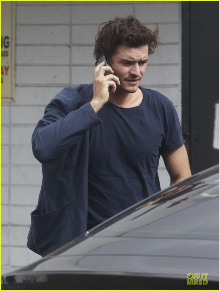 orlando bloom flynn la stroll after miranda kerr met ball 22