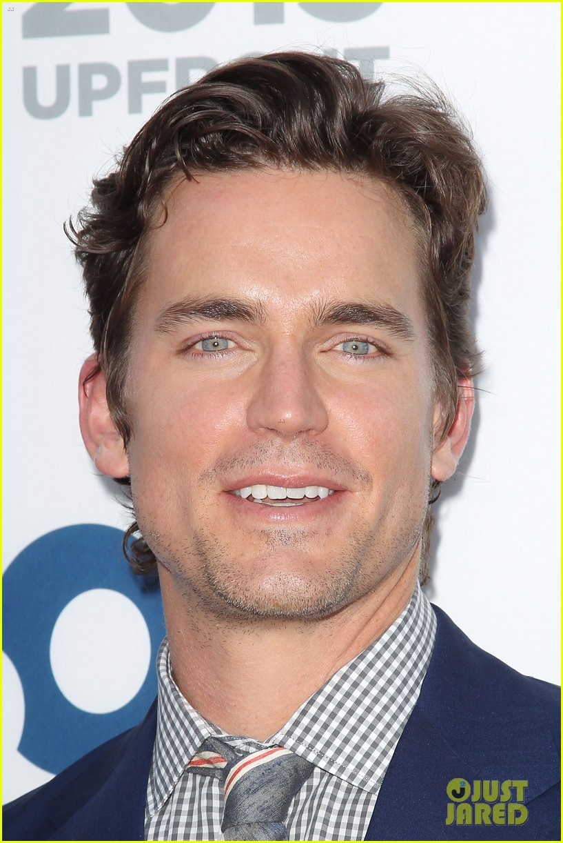 matt bomer aaron tveit usa upfront 2013 red carpet 21