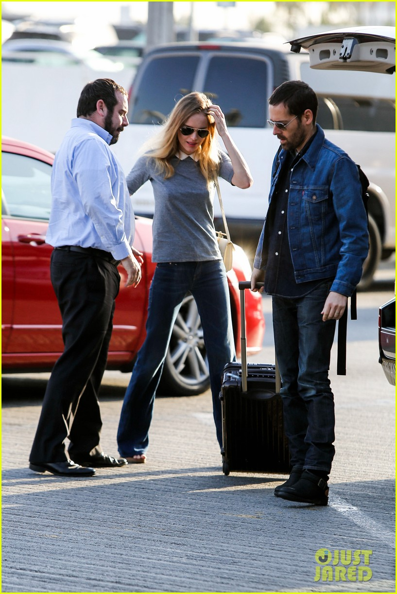 kate bosworth michael polish hold hands before flight 13