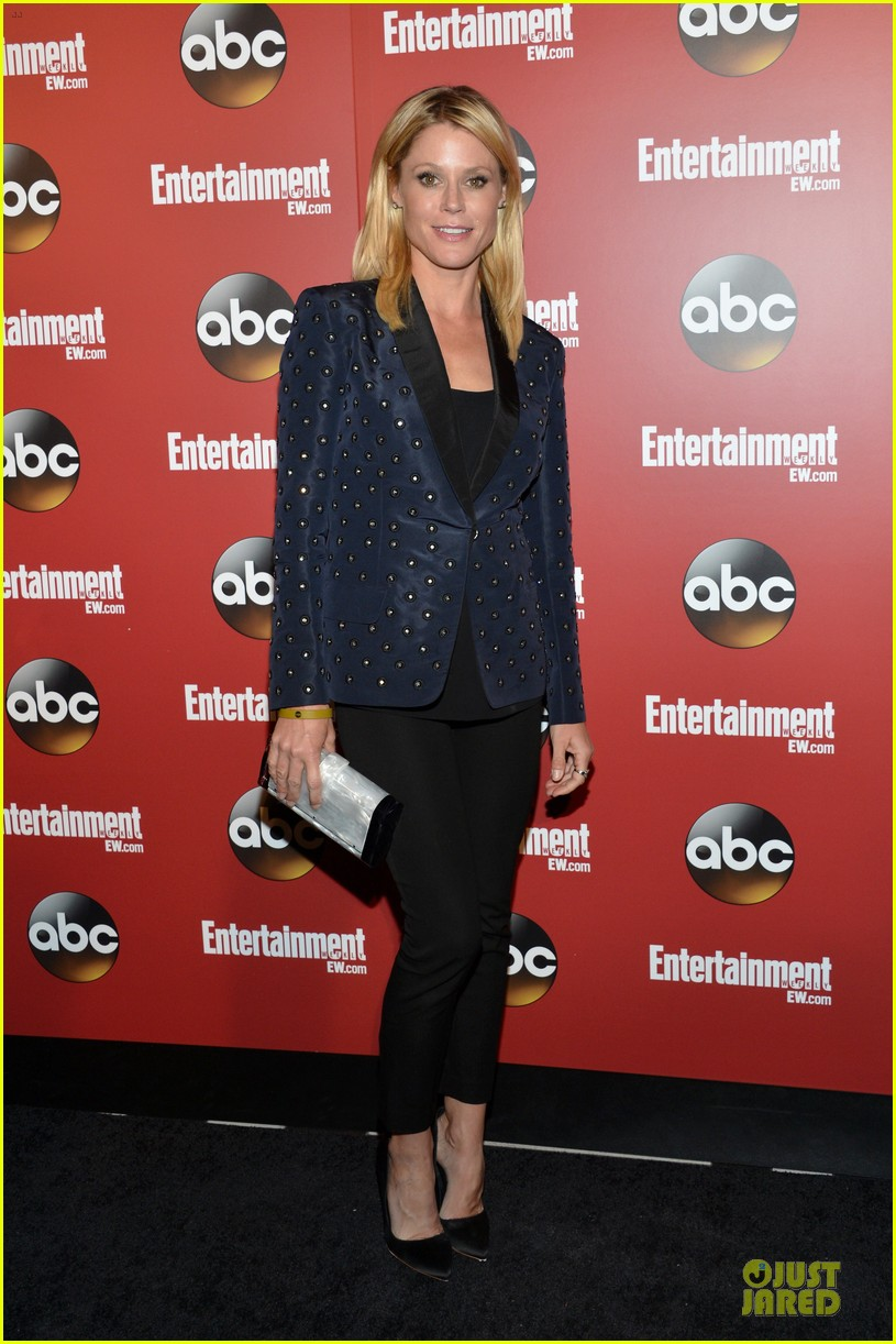 julie bowen jesse tyler ferguson abc upfront party 012870566