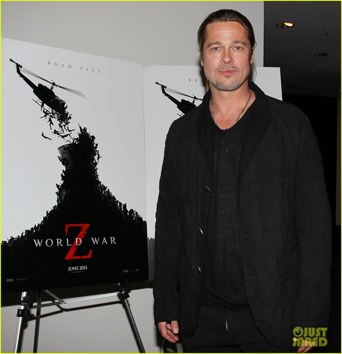 brad pitt world war z moma screening 08