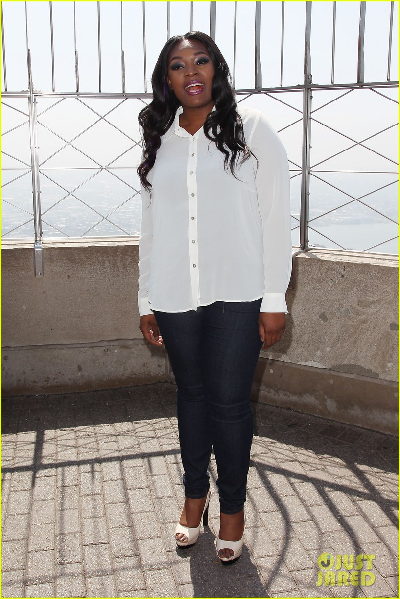 american idol winner candice glover visits empire state building exclusive quotes 23