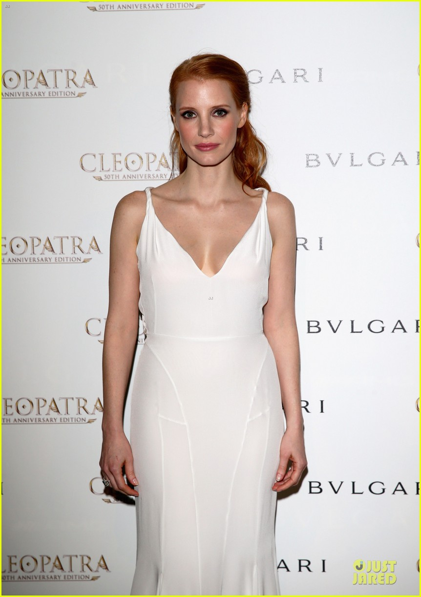 jessica chastain cleopatra cocktail party 102875871