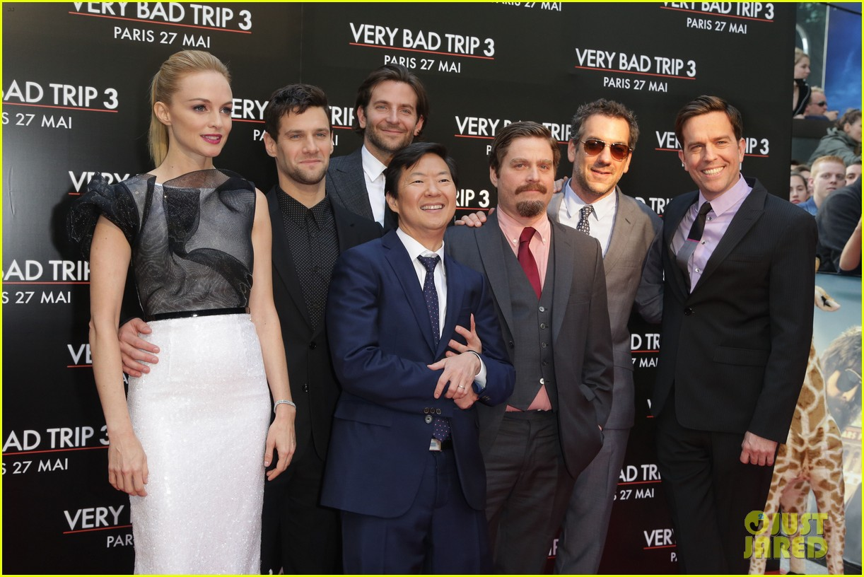 bradley cooper hangover part iii paris premiere with cast 06