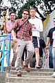 bradley cooper visits santa marta favela with ed helms 13