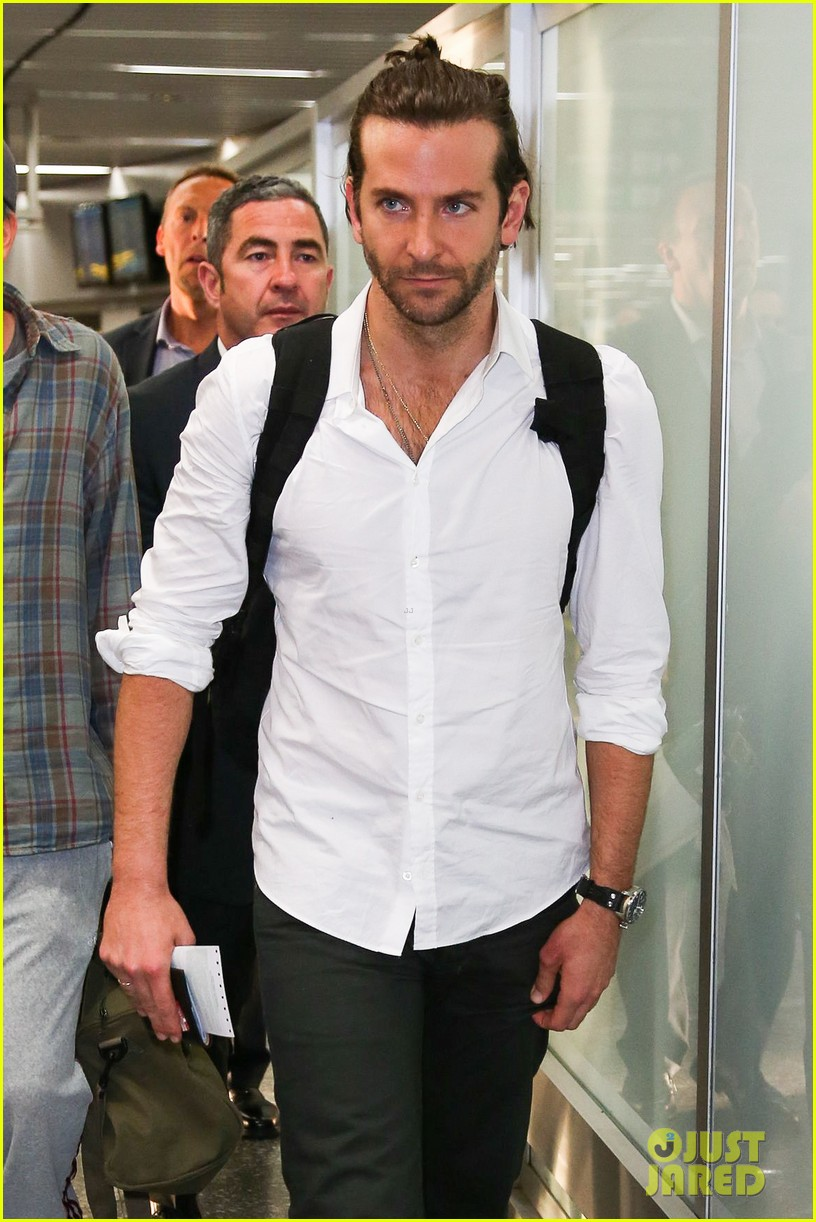 bradley cooper shirtless after brazil arrival with hangover guys 232879443