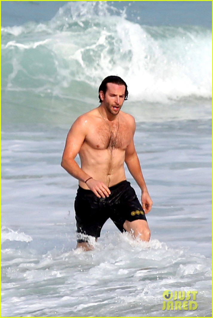 bradley cooper premieres hangover in rio swims shirtless 04