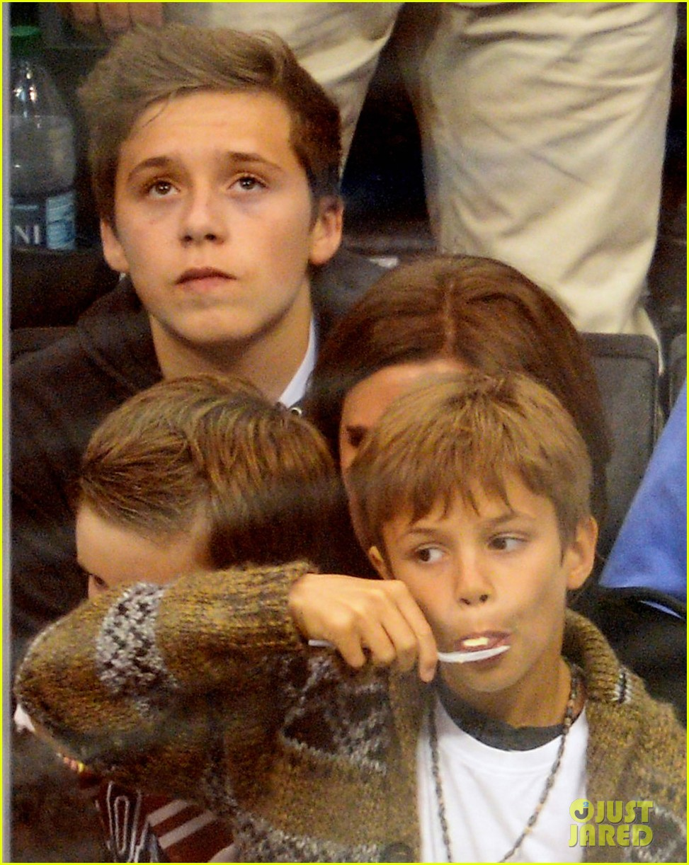tom cruise david beckham kings game with families 01
