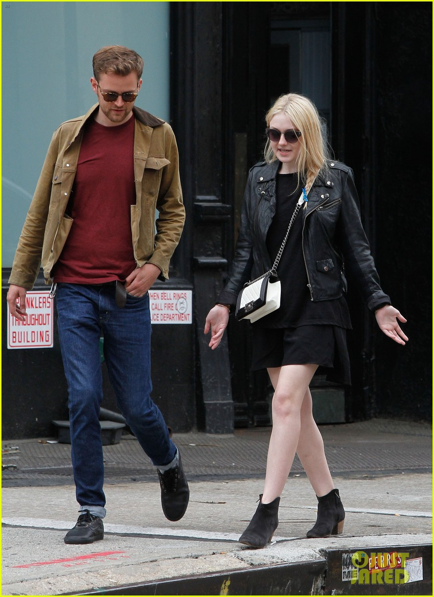 dakota fanning post met ball stroll in nyc 032869053