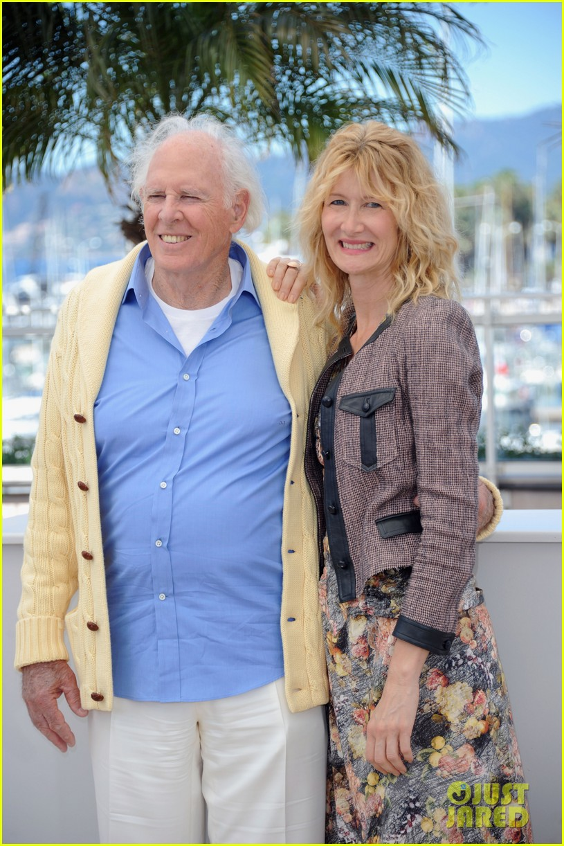 laura dern will forte cannes nebraska photo call 04