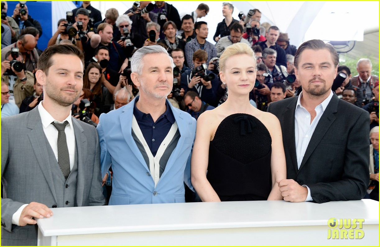 leonardo dicaprio cannes film festival great gatsby photo call 19