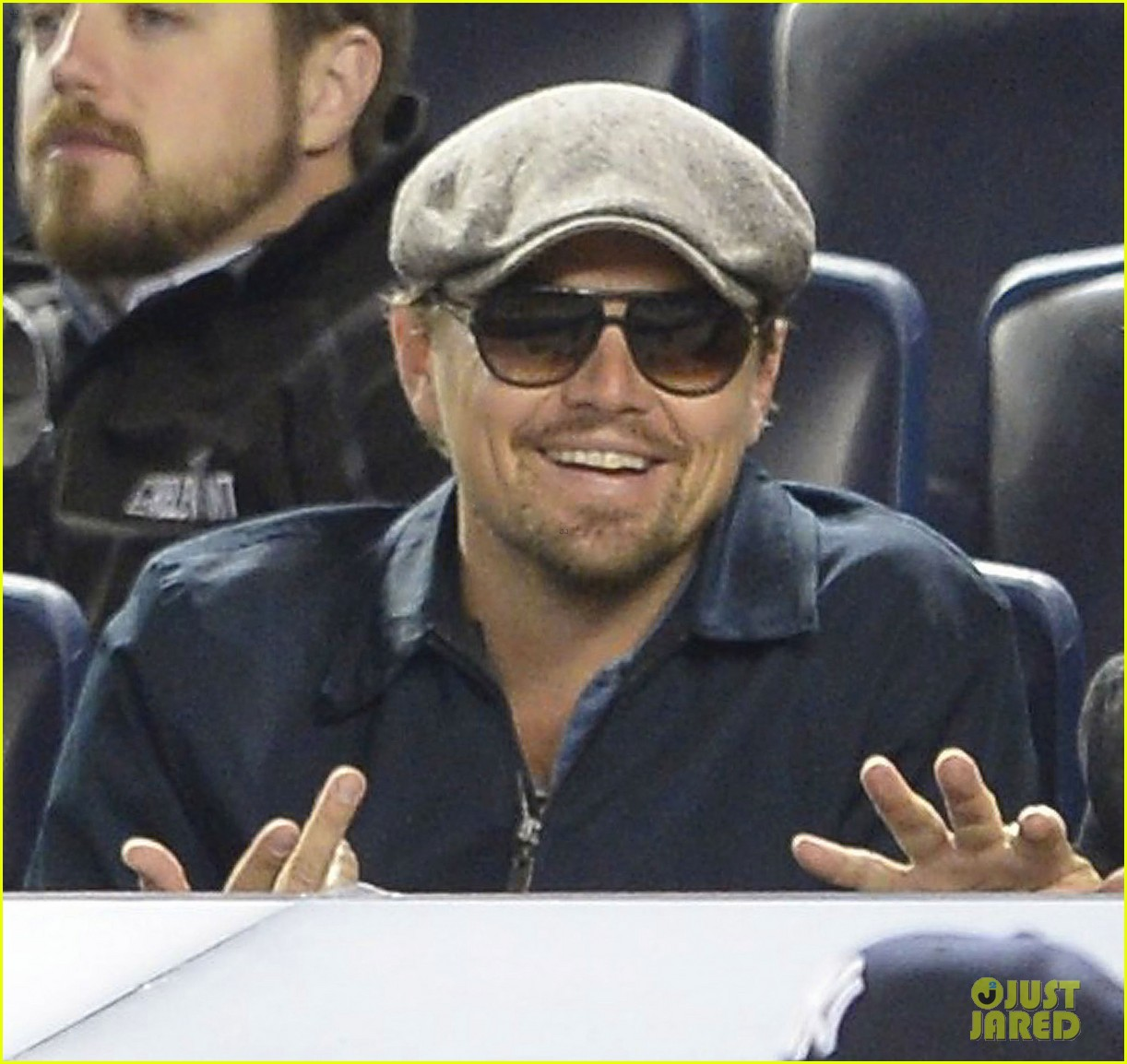 leonardo dicaprio yankees game dugout dude 012863764