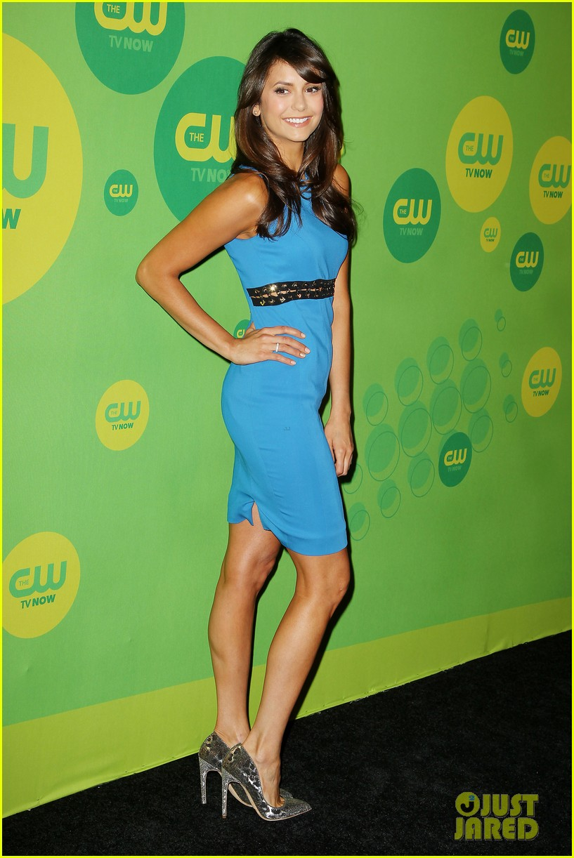 nina dobrev ian somerhalder cw upfronts after breakup 09