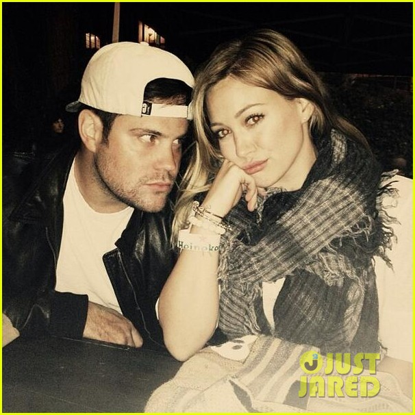 hilary duff feeling green with baby luca 022877275