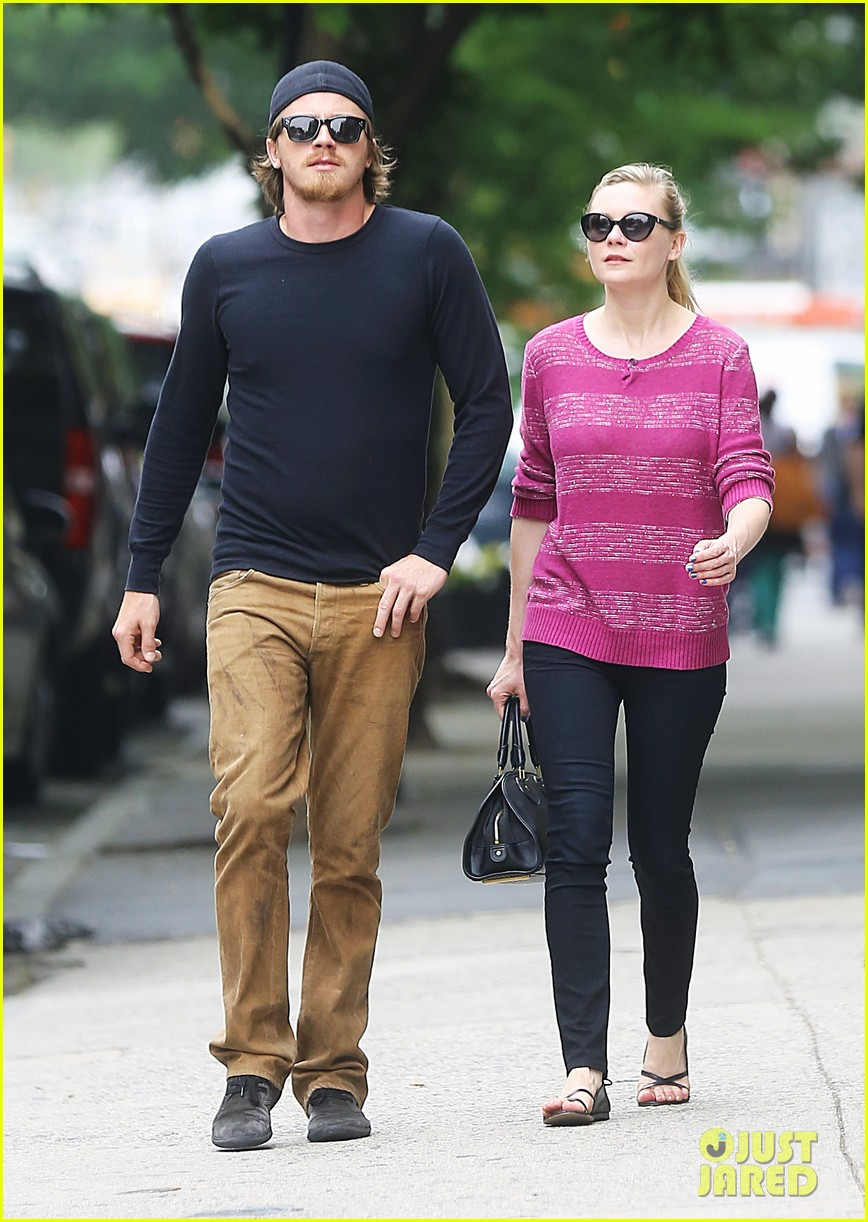 kirsten dunst garrett hedlund stoll soho after cannes 012877484