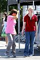 elle fanning hangs out on low down set 03