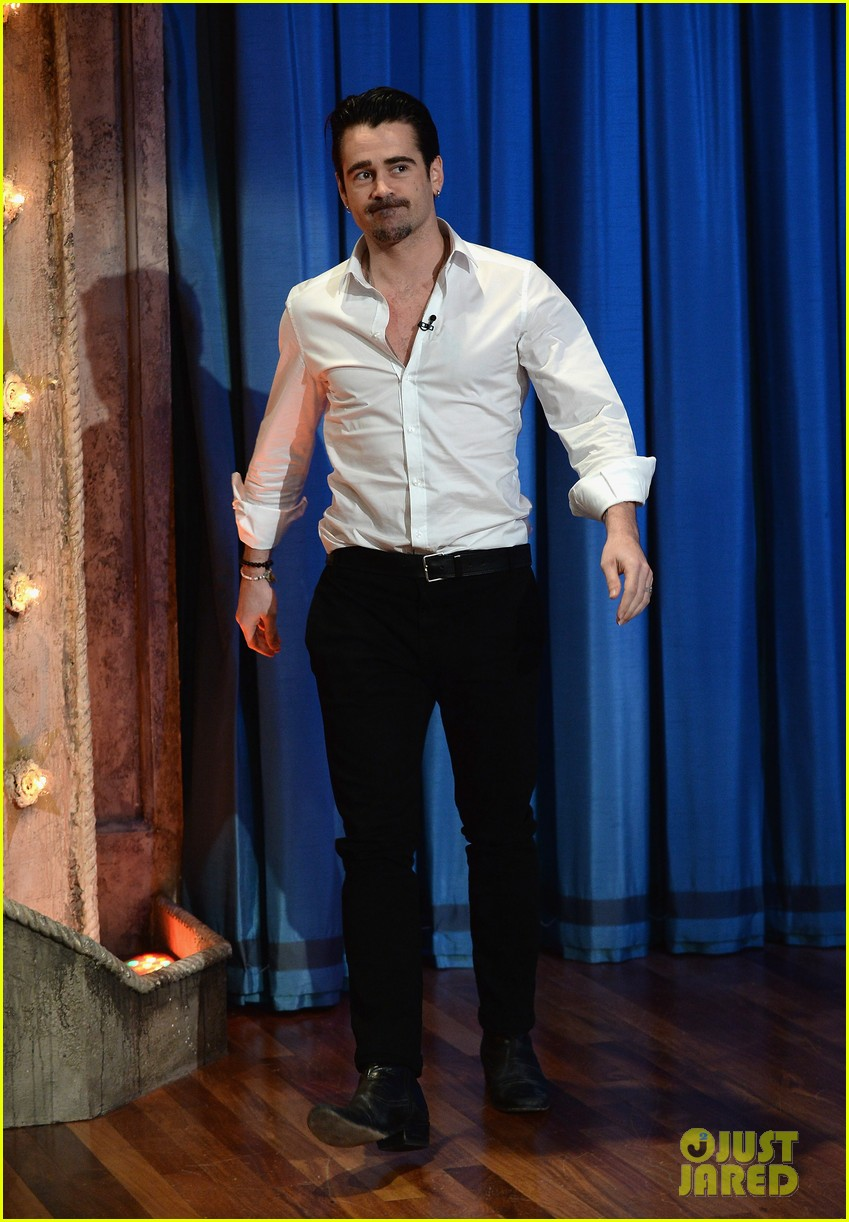 colin farrell late night with jimmy fallon debut 10