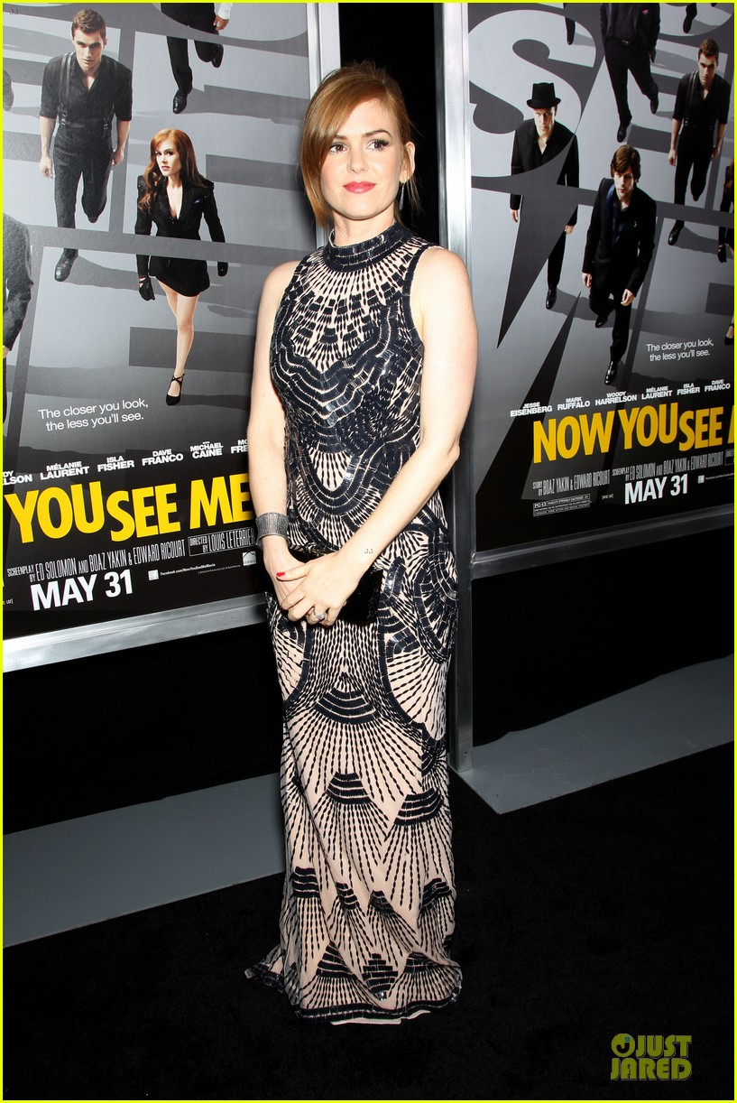 isla fisher jesse eisenberg now you see me premiere 102875919