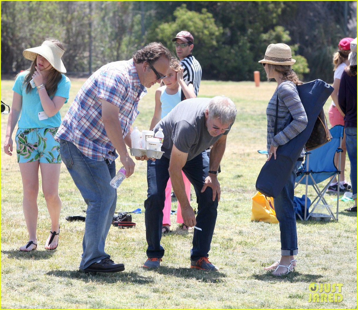 harrison ford calista flockhart liam soccer game 172868796