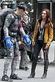 megan fox alan ritchson hold hands on ninja turtles set 13