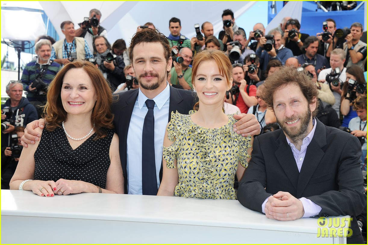james franco ahna oreilly as i lay dying cannes photo call 11