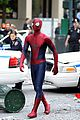 andrew garfield films amazing spider man 2 with mini me 01