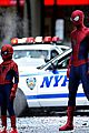 andrew garfield films amazing spider man 2 with mini me 05