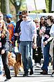 andrew garfield emma stone holding hands at eif revlon run walk 11