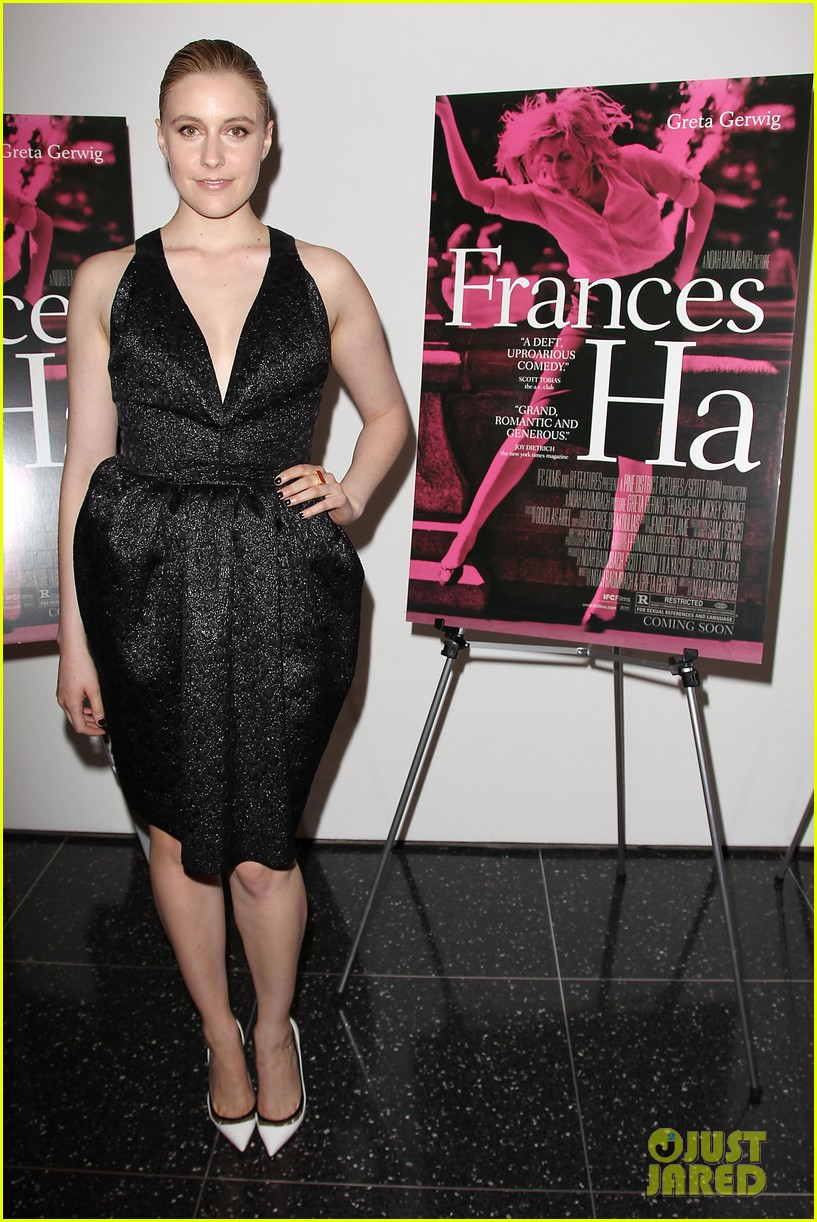 Greta gerwig frances ha new york premiere