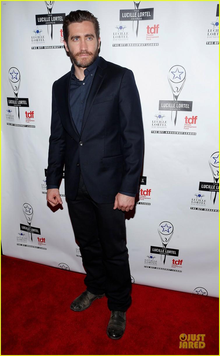 jake gyllenhaal america ferrera lucille lortel awards 03