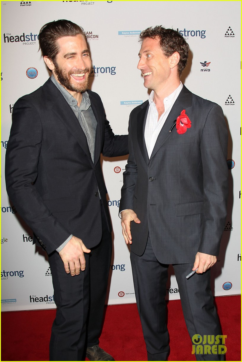 jake gyllenhaal anna chlumsky words of war event 16