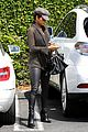 halle berry rocks leather pants while shopping 13