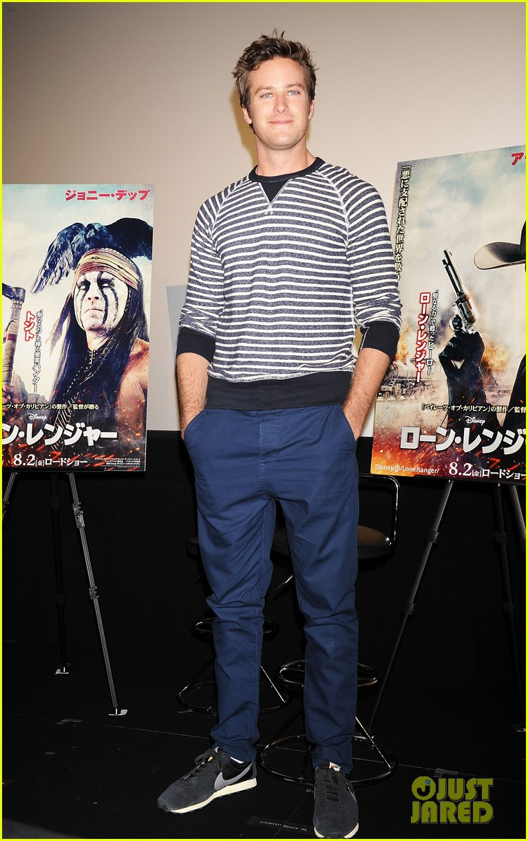 armie hammer lone ranger japan press conference 03