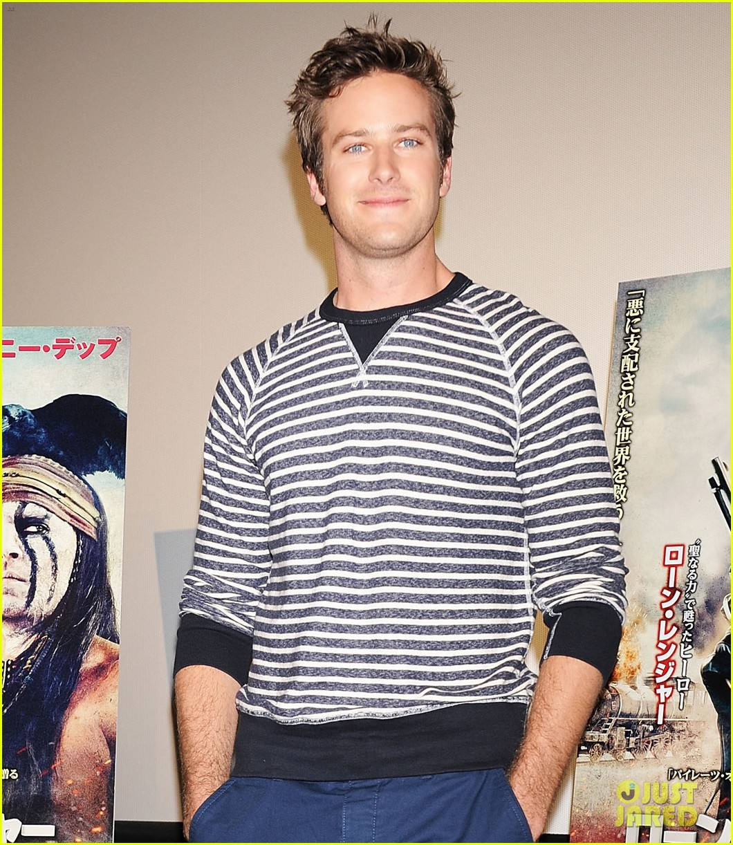 armie hammer lone ranger japan press conference 08