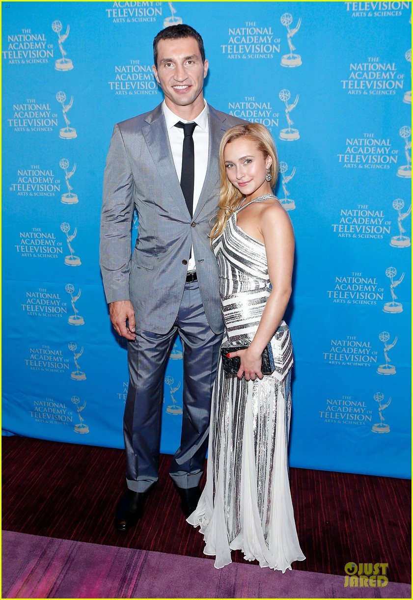 hayden panettiere wladimir klitschko sports emmy awards reception 012866327