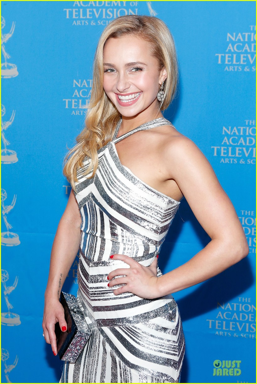 hayden panettiere wladimir klitschko sports emmy awards reception 04