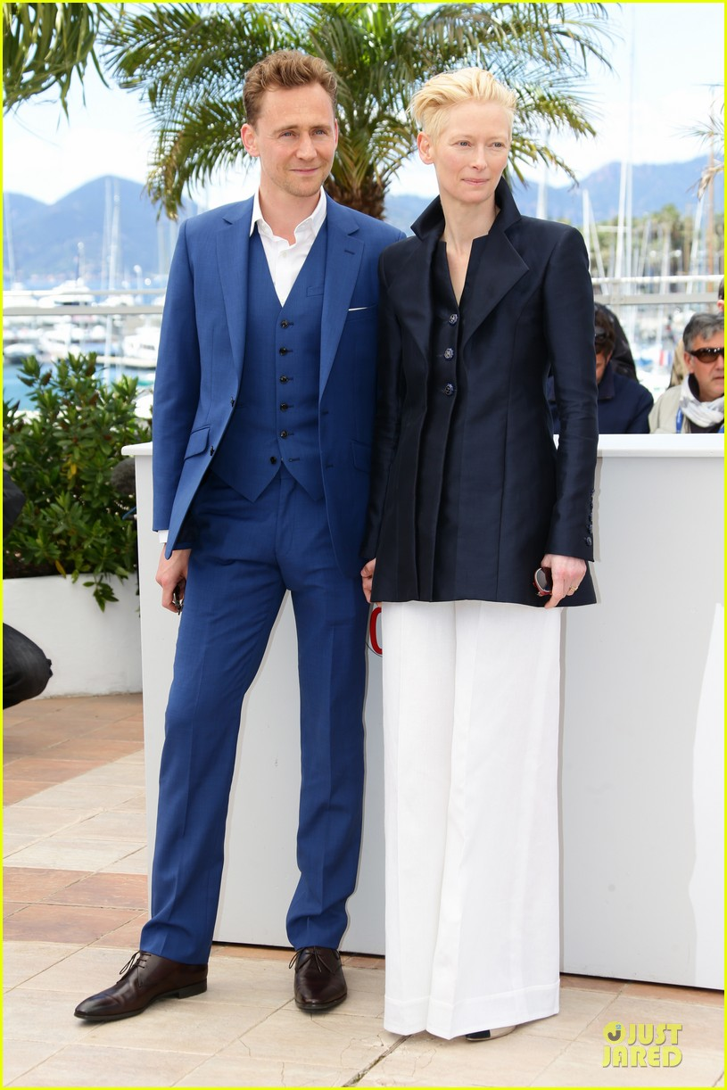 tom hiddleston tilda swinton only lovers left alive cannes photo call 14